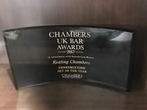Chambers award 2017